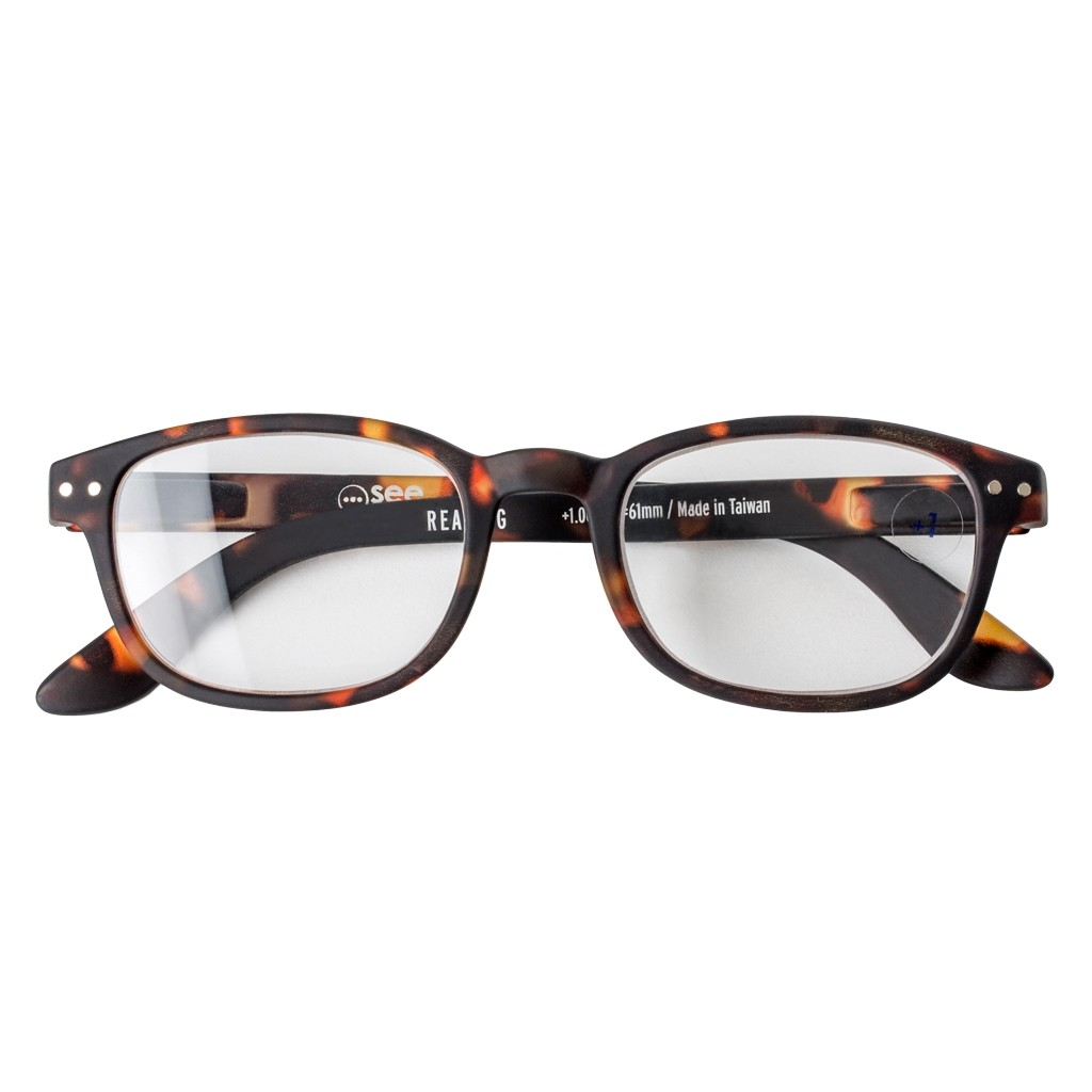 8b0eba183a6 LetMeSee  B Reading Glasses Tortoise - The Conran Shop