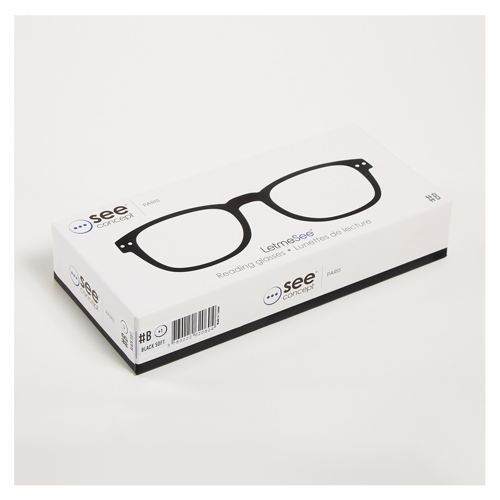 582d634669f LetMeSee  B Reading Glasses Black - The Conran Shop